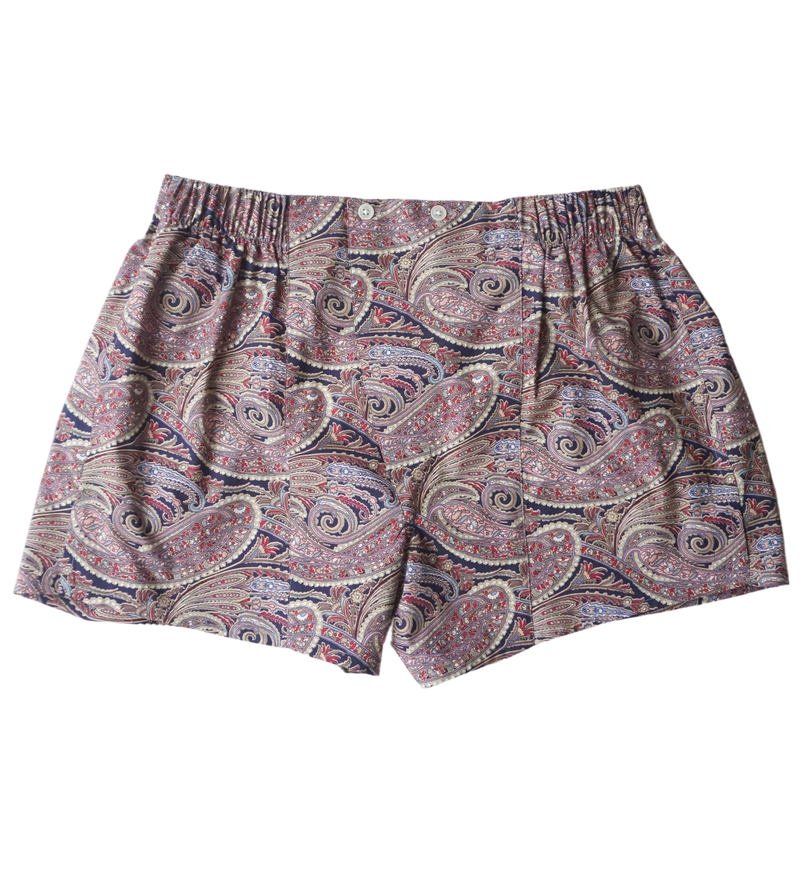 Paisley Cotton Boxers
