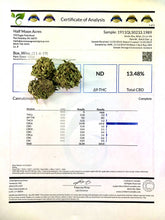 Load image into Gallery viewer, Box Wine CBD Hemp Flower USDA Certified Organic