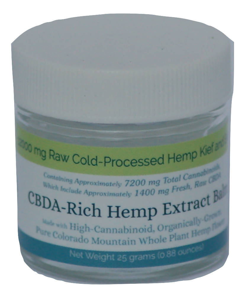 CBDA Rich Hemp Extract Balm