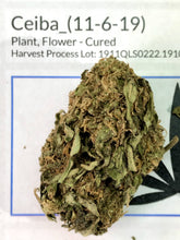 Load image into Gallery viewer, Ceiba CBD Hemp Flower USDA Certified Organic