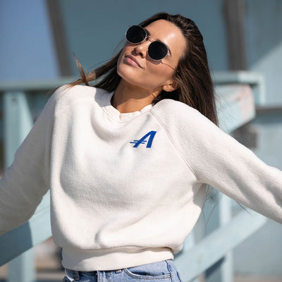 Andorfins The Flow Fleece Sweatshirt - Manilla