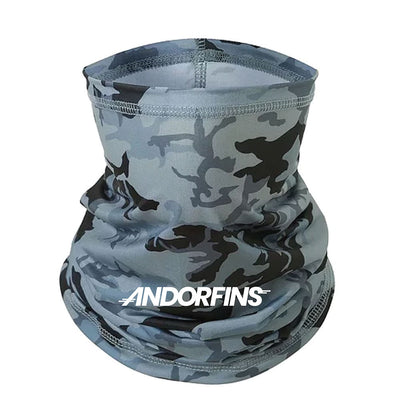 Andorfins The Later Gaiter Neck Gaiter - Camo Print