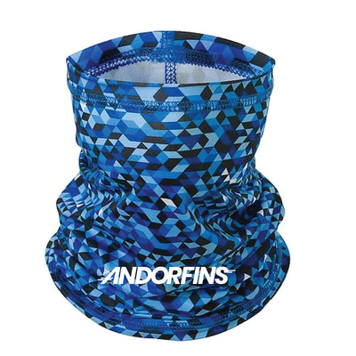 Andorfins The Later Gaiter Neck Gaiter - Geo Print