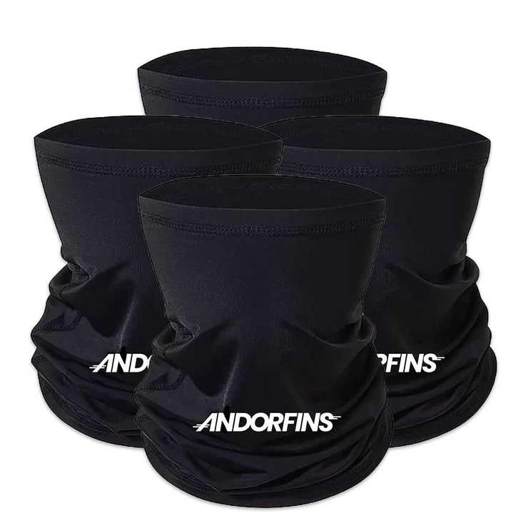 Andorfins The Later Gaiter Neck Gaiter - Black -4 pack