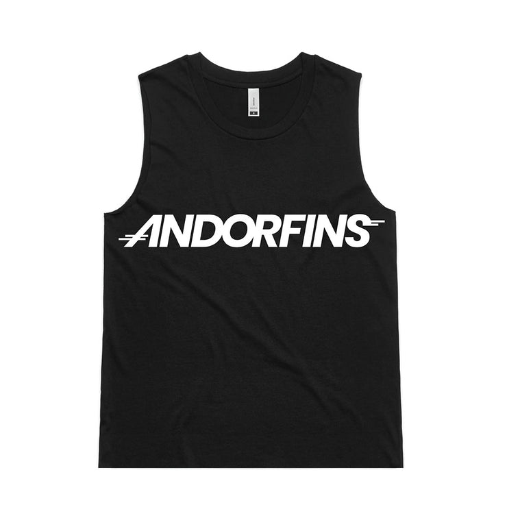 Andorfins The Fierce Tank Top - Black