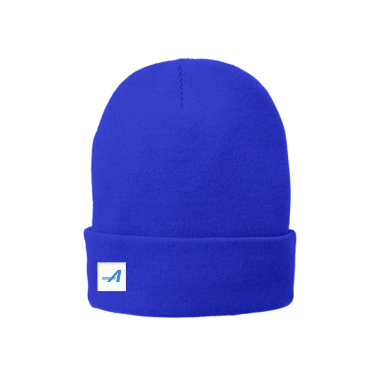 The Trek Beanie, Blue