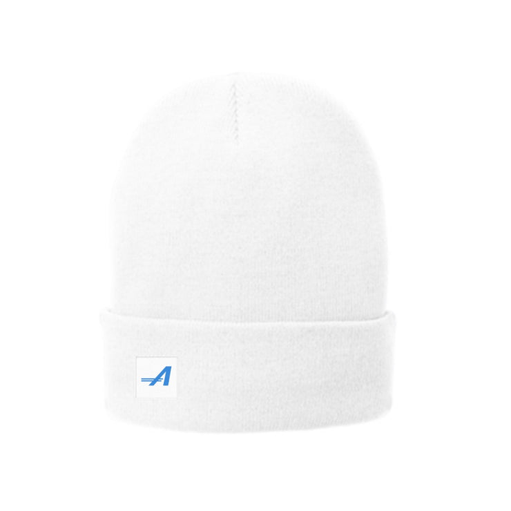 The Trek Beanie, White