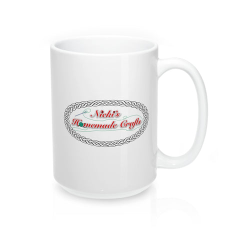 """Nicki's Homemade Crafts"" - Mug 15oz"
