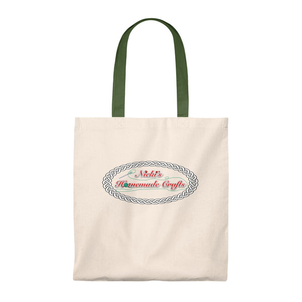"""Nicki's Homemade Crafts"" - Tote Bag - Vintage"