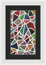 Load image into Gallery viewer, Pixels_Art Framed Digital Art_Earthly Patches