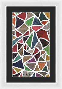 Pixels_Art Framed Digital Art_Earthly Patches