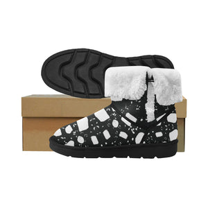 InterestPrint_Boots Mid Calf Snow Women_012 Floater_Panel