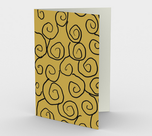 Art of Where_Greeting Card_055_Old School Swirls