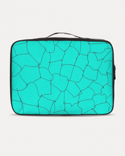 Load image into Gallery viewer, Kin Custom_001_Aqua Crackle Jetsetter Travel Case