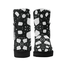 Load image into Gallery viewer, InterestPrint_Boots Mid Calf Snow Women_012 Floater_Panel