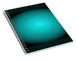 A Beam of Light - Spiral Notebook