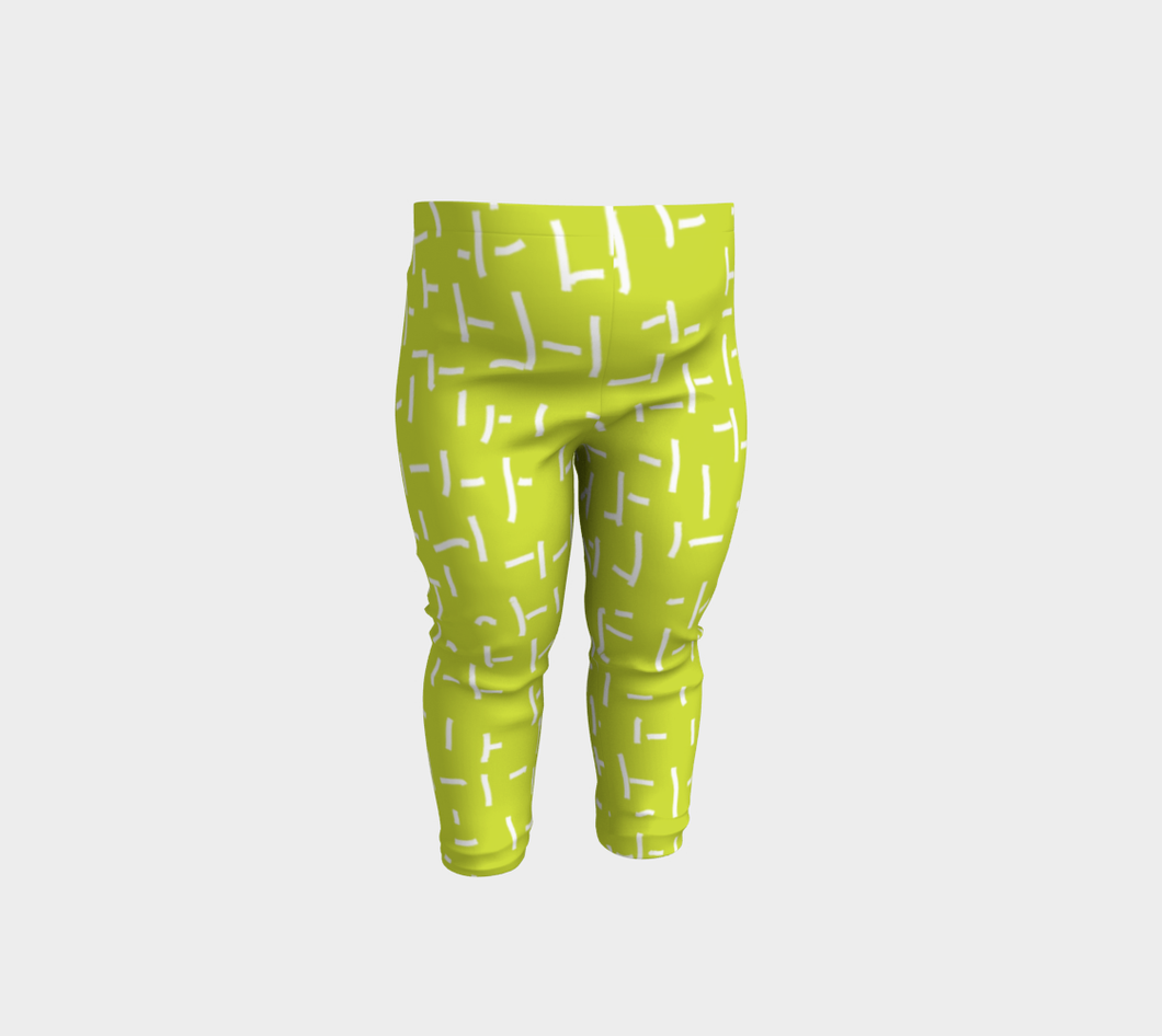 Art of Where_Leggins-baby 6 months to 3 years_Orient Green