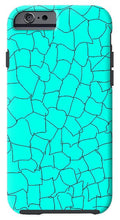 Load image into Gallery viewer, Aqua Crackle - Phone Case
