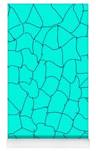 Load image into Gallery viewer, Pixels_Yoga Mat_Aqua Crackle