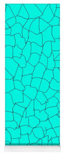 Load image into Gallery viewer, Aqua Crackle - Yoga Mat