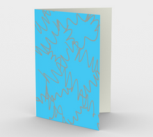 Load image into Gallery viewer, Art of Where_Greeting Card_056_Wiggly Lines