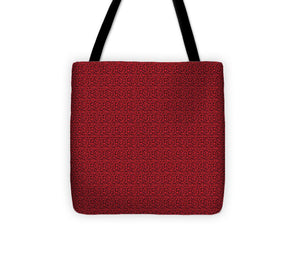 See Red Thru Lace - Tote Bag