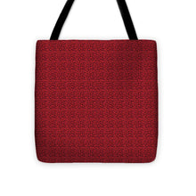 Load image into Gallery viewer, See Red Thru Lace - Tote Bag