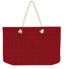 Load image into Gallery viewer, See Red Thru Lace - Weekender Tote Bag