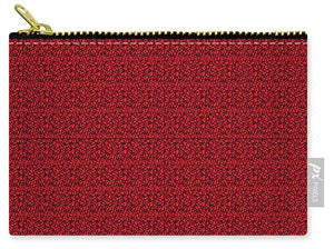 See Red Thru Lace - Carry-All Pouch