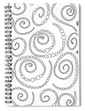 Load image into Gallery viewer, Pixels_Notebook Spiral Bond_String of Pearls