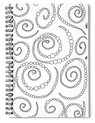 String of Pearls - Spiral Notebook
