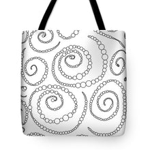 Load image into Gallery viewer, Pixels_Tote Bag_String of Pearls