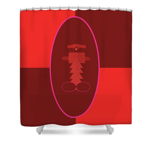 Pixels_Shower Curtain_The Little Man