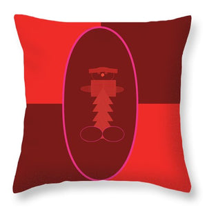 The Little Man - Throw Pillow
