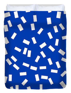 Pixels_Duvet Cover_Tickets