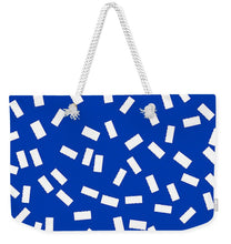 Load image into Gallery viewer, Pixels_Tote Bag Weekender_Tickets