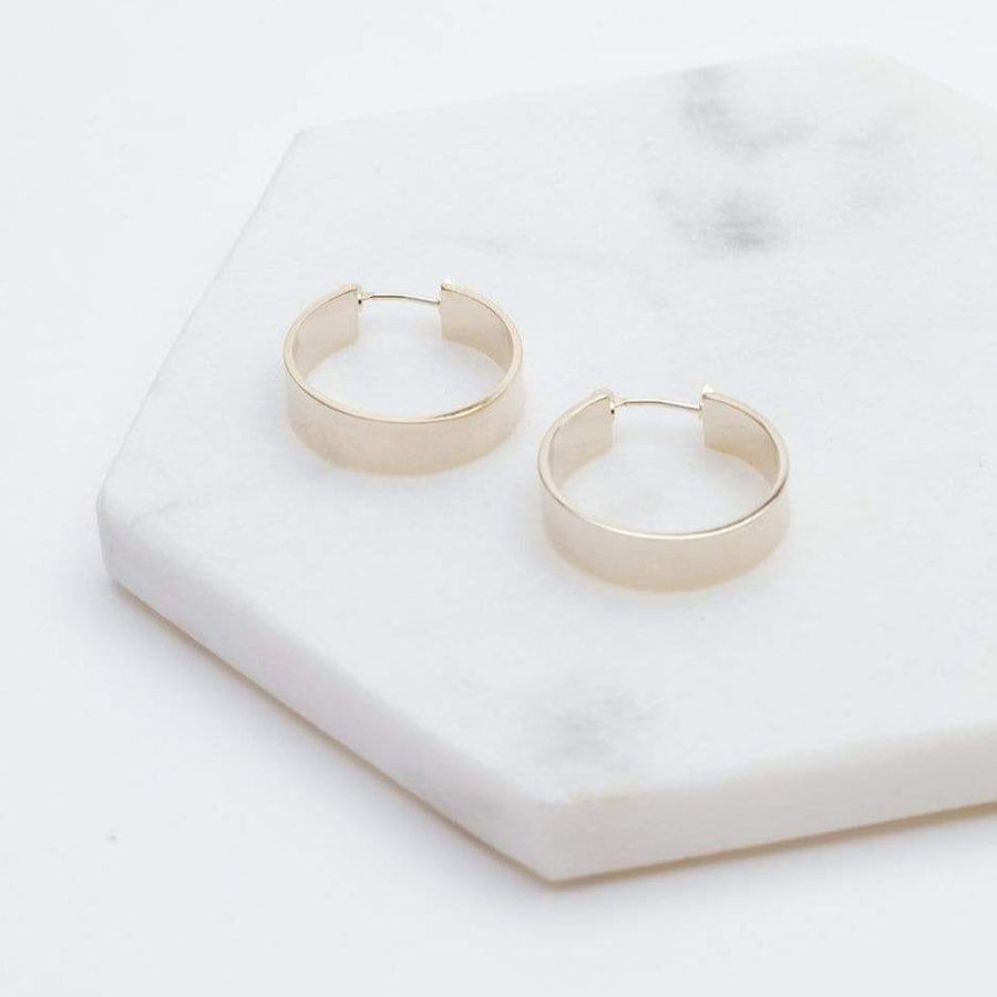 Chloe Hoop Earrings