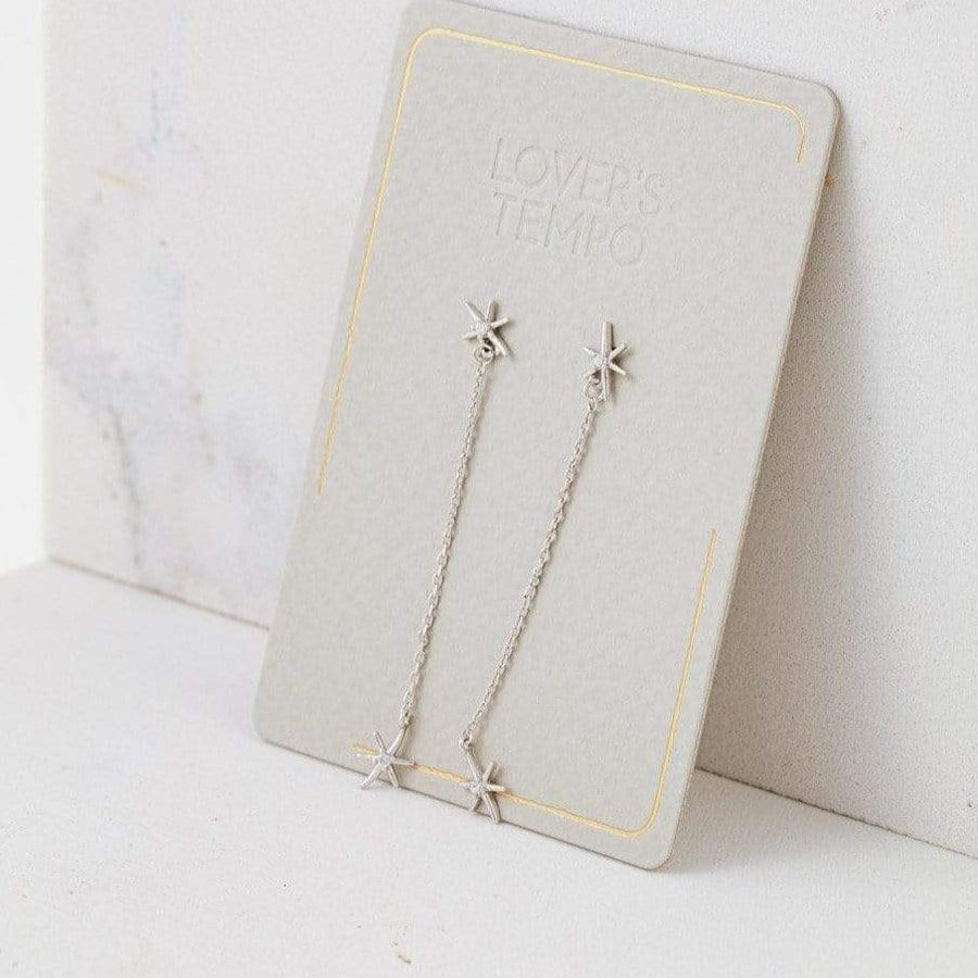 Glimmer Drop Earrings