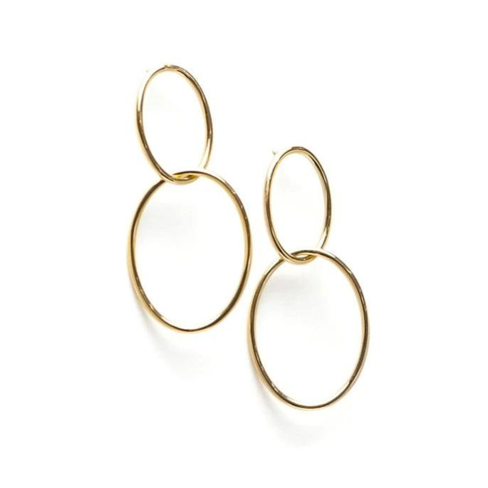 Infinity Hoop Earrings