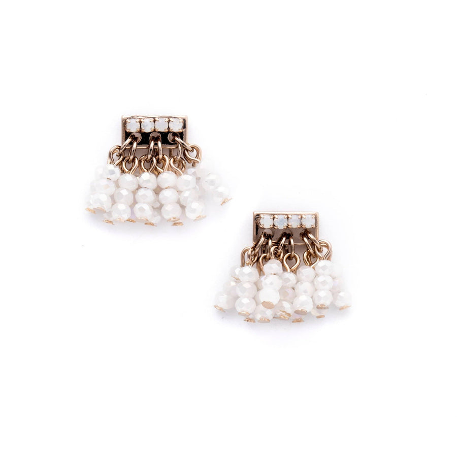 Triumph Beaded Post Earrings