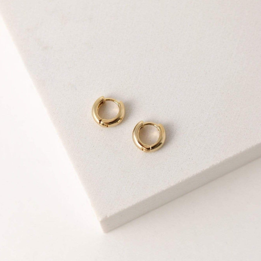Bea 10mm Hoop Earrings