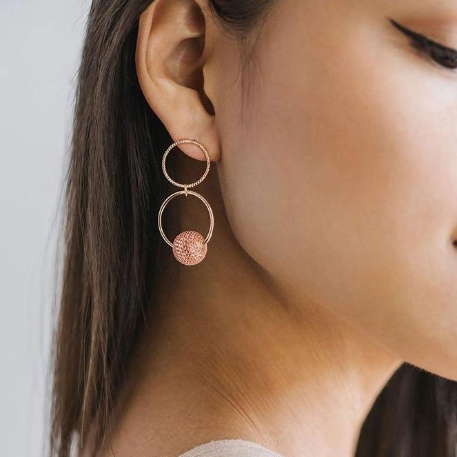 Countdown Drop Earrings