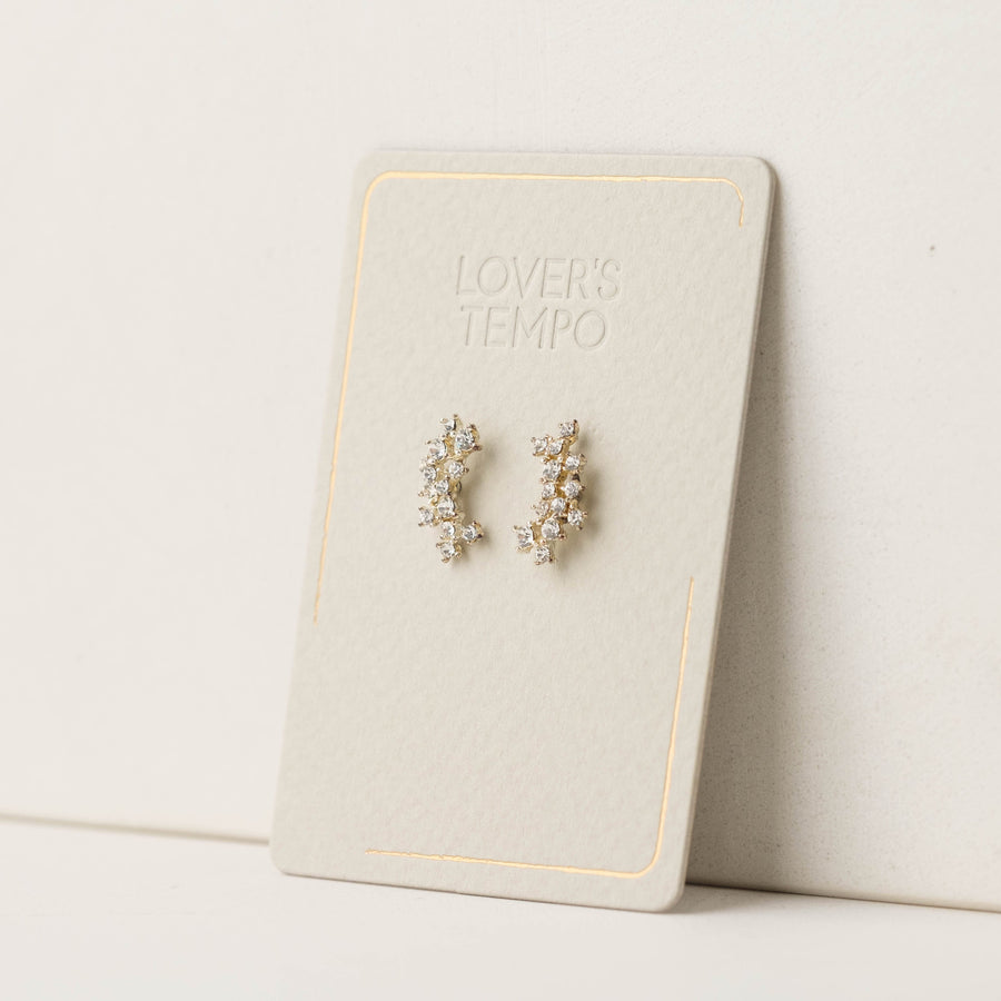 Stardust Ear Climber Earrings