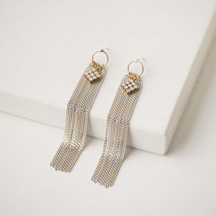 Siene Fringe Earrings