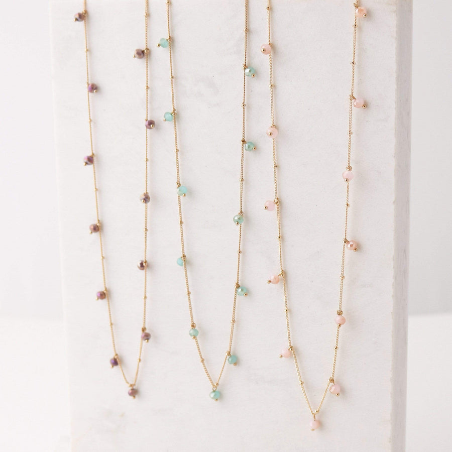 Dot Crystal Necklace