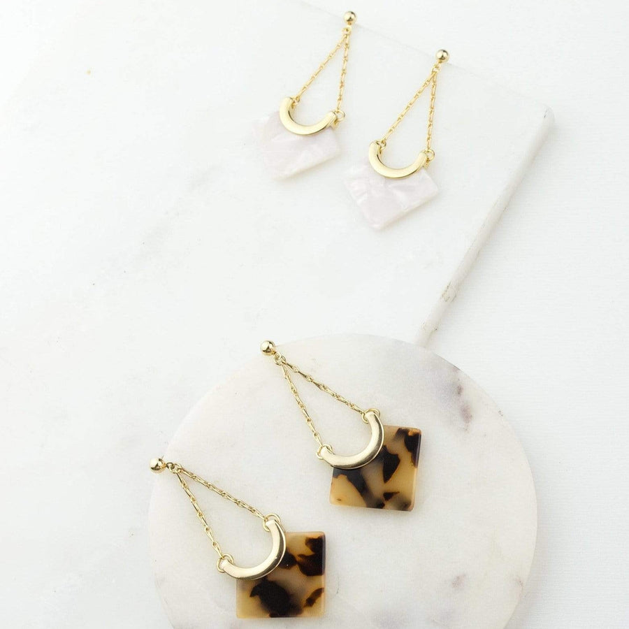 Libra Drop Earrings