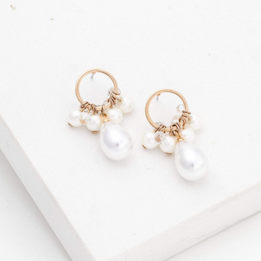 Contessa Pearl Drop Earrings