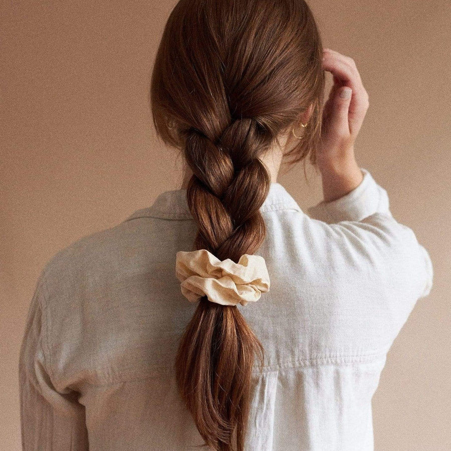 Sunday Cotton Scrunchie