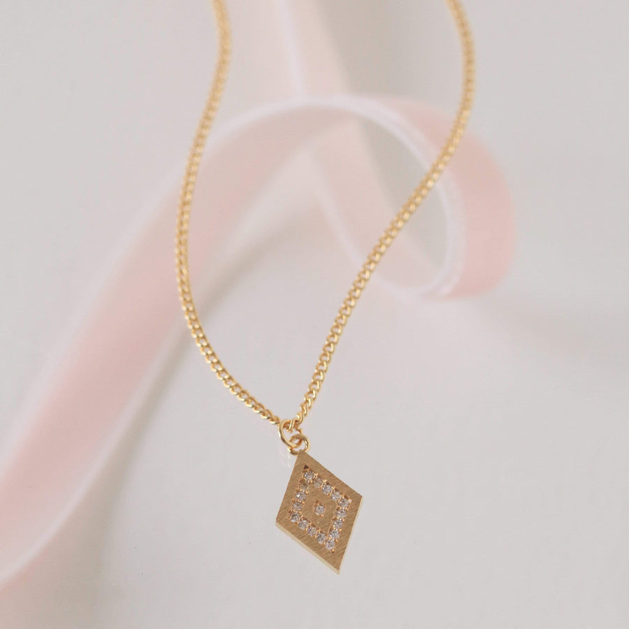 One in a Million Pave Diamond Necklace