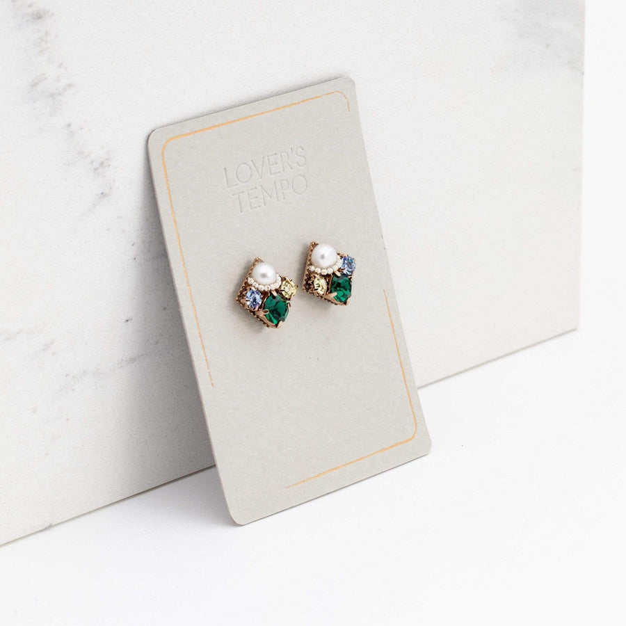 Waterlily Post Earrings
